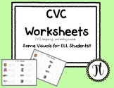 Differentiated CVC Worksheets