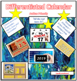 Differentiated Calendar Skills: Autism Friendly