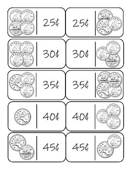Differentiated Canadian Money Dominoes