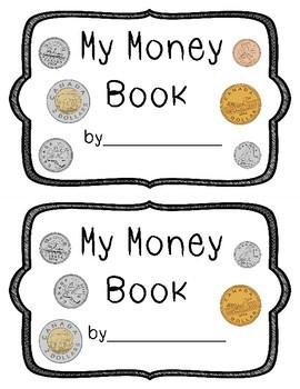 Differentiated Canadian Money Emergent Reader