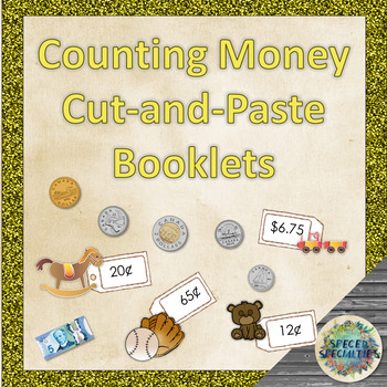 Counting Canadian Money Booklets - Differentiated