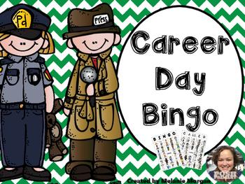 Easy Prep Differentiated Career Day Bingo