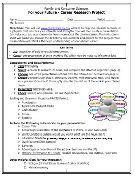 Differentiated Career Research Computer Project