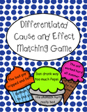 Differentiated Cause and Effect Matching Game