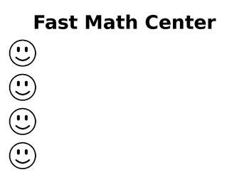 Differentiated Centers - Smiley Faces