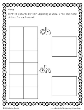 Differentiated Ch and Sh Sort