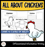 Differentiated Chicken Information Report Template