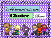 Differentiated Choice Board Activities (Spanish and English)