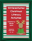 Differentiated Christmas Literacy Activities  AR levels 2.3 - 2.8