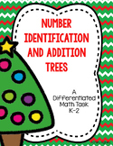 Differentiated Christmas Math Task- Number Identification