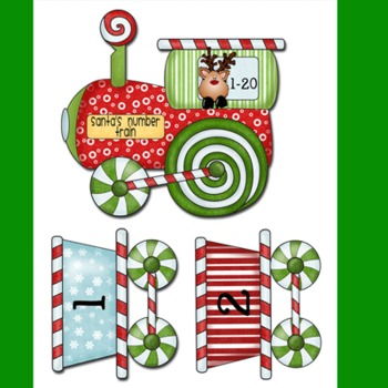 Differentiated Christmas Math and Literacy Center Bundle