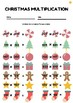 Differentiated Christmas Multiplication Activity