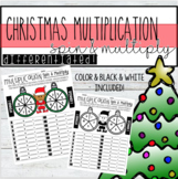 Differentiated Christmas Multiplication - Spin and Multiply!