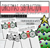 Differentiated Christmas Subtraction - Spin and Subtract!