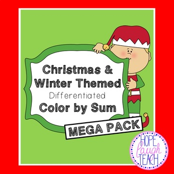 Differentiated Christmas & Winter Color By Sum