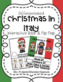 Differentiated Christmas in Italy Interactive Book & Close Reading Flip Flap