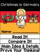 Differentiated Christmas in Germany Interactive Book & Close Reading Flip Flap