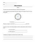 Differentiated Clock Math Task