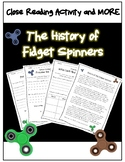 Differentiated Close Read - The History of Fidget Spinners