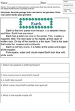 Differentiated Close Reading Worksheet; Special Ed; Directly Stated in Text