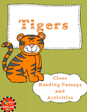 Differentiated Close Reading of Tigers Article