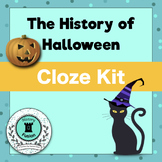 Differentiated Cloze Kit-The History of Halloween