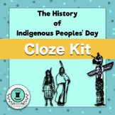 Differentiated Cloze Kit-The History of Indigenous Peoples' Day