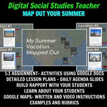 Map Out My Summer with Google My Maps
