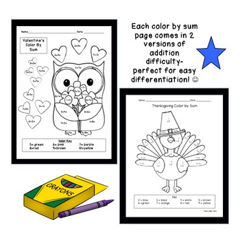 Differentiated Color By Sum Bundle