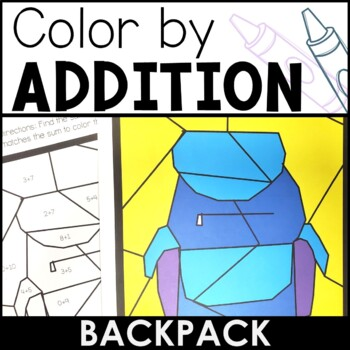 Differentiated Color by Addition | Backpack