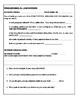 Differentiated Common Core Peer Editing Worksheet