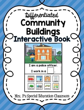 Differentiated Community Helpers Interactive Book Bundle