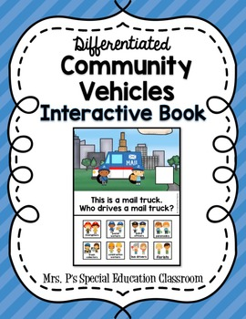 Differentiated Community Vehicles Interactive Book