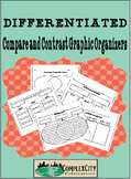 Differentiated Compare and Contrast Graphic Organizers