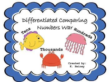 Differentiated Comparing Numbers