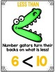 Differentiated Comparing Numbers {Greater Than, Less Than or Equal To} Packet
