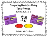 Differentiated Comparing Numbers Tens Frames