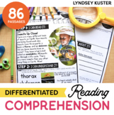Differentiated Comprehension Journal for the Year {THE BUNDLE!}
