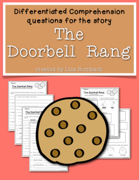 differentiated comprehension questions for story the doorbell rang. Black Bedroom Furniture Sets. Home Design Ideas