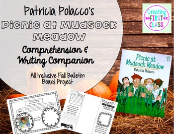 "Differentiated Comprehension Lesson: Cubing with ""Picnic at Mudsock Meadow"""