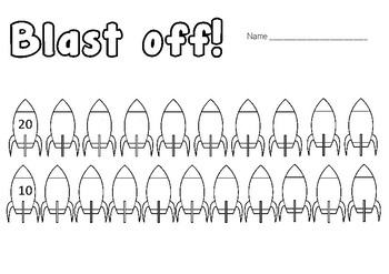 Differentiated Counting Backwards Task