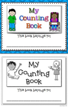 Differentiated Counting Book for Writing Numbers to 1000 and Beyond