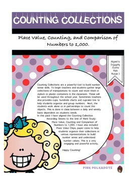 Differentiated Counting Collections Focus Area: Place Value