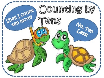 Differentiated Counting by Tens (From any Number)