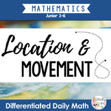 Location and Movement: Differentiated Daily Math for Grade 3-6 in Ontario