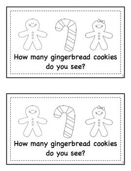 Gingerbread Emergent Readers