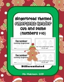 Gingerbread Emergent Readers