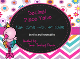 Differentiated Decimal Task Cards w/QR Codes: Read, Write,