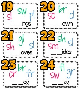 Differentiated Diagraphs & Blends SCOOT and Fluency Pack