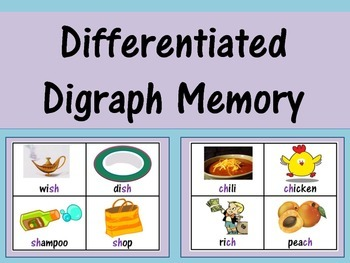 Differentiated Digraph Memory